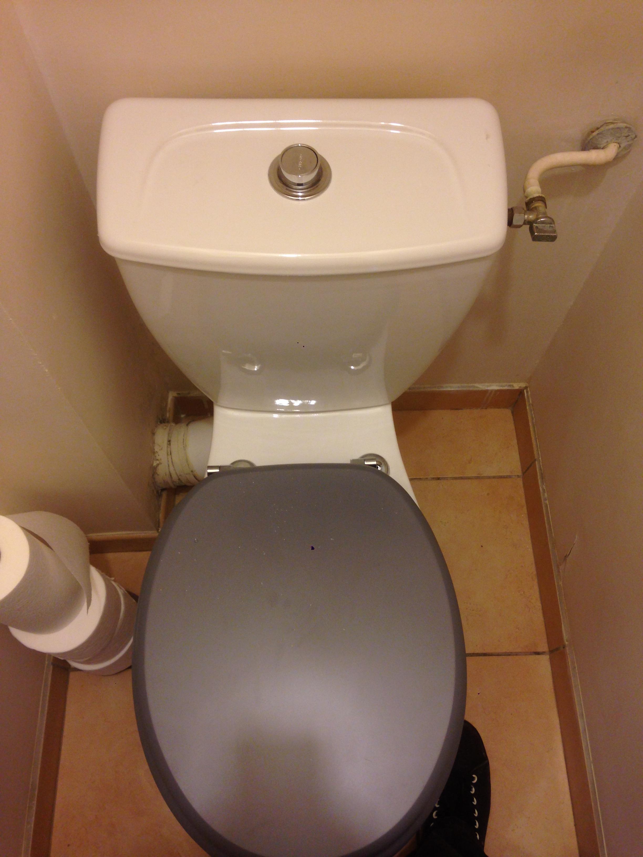 Remplacement chasse d'eau WC