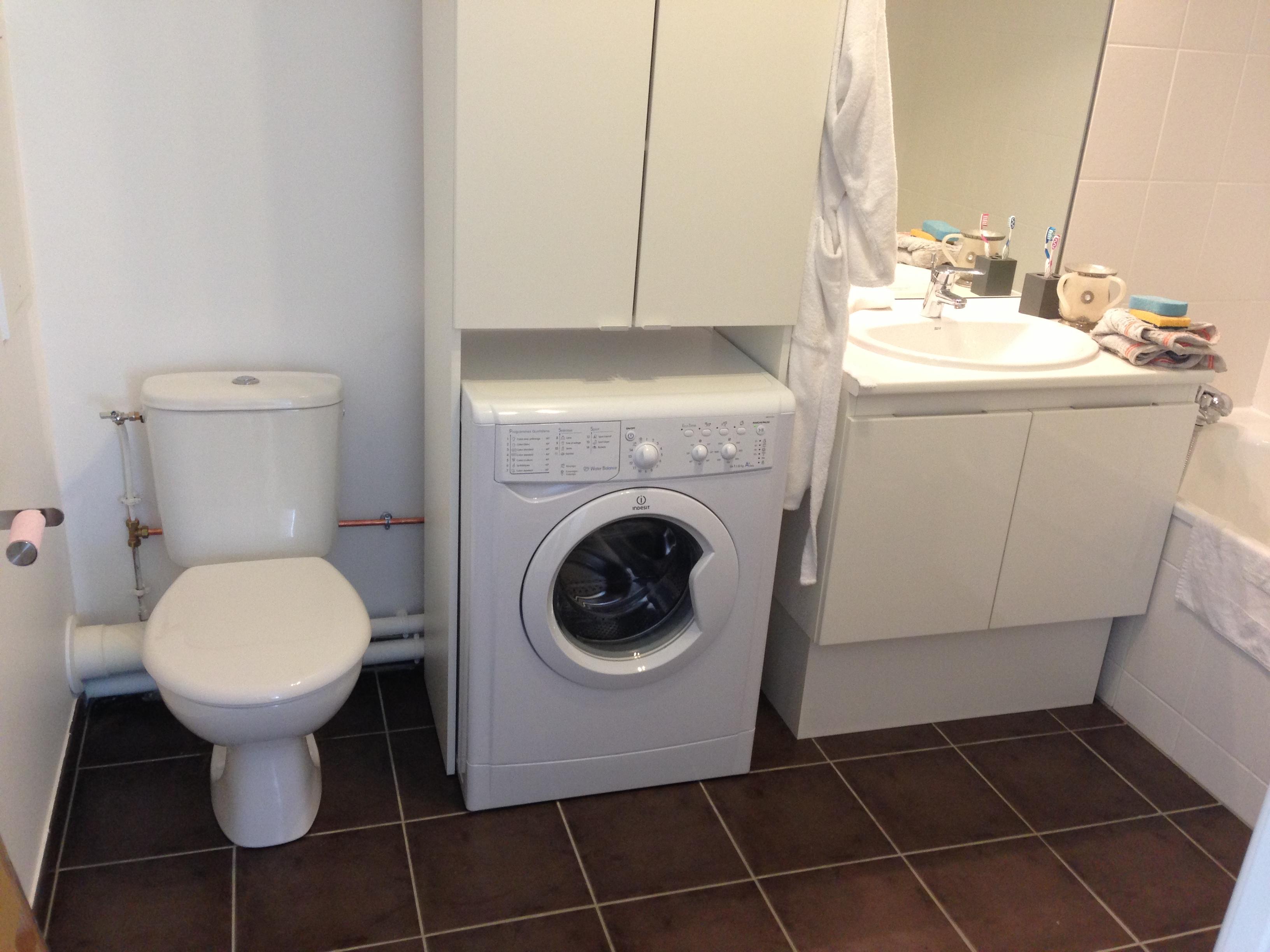 Création branchements machine à laver