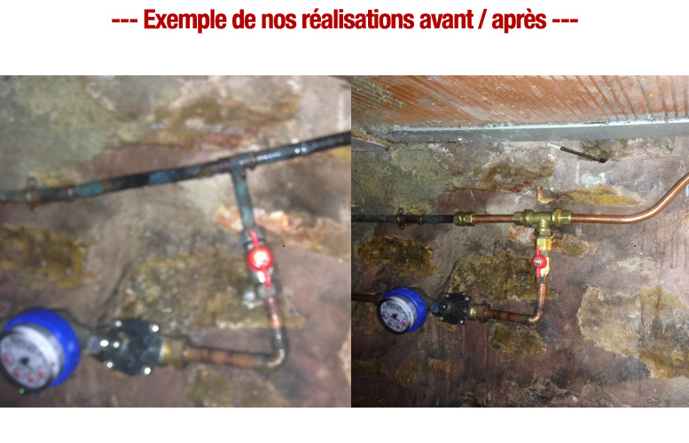 fuite tuyauterie plombier pas cher paris 8