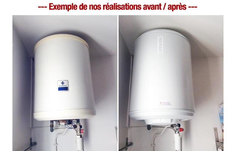 remplacement chauffe eau electrique plombier pas cher paris 7