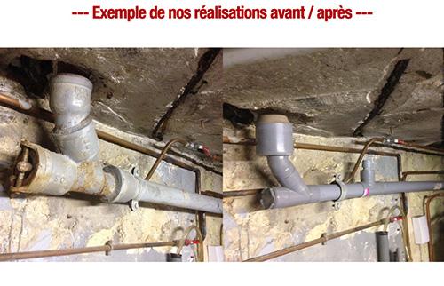 remplacement collecteur eau usee plombier paris pas cher paris 10