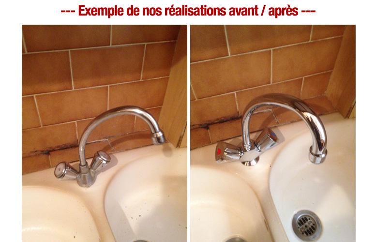 remplacement melangeur evier plombier pas cher 6