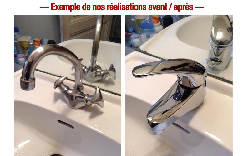 remplacement robinnetterie plombier pas cher paris 2