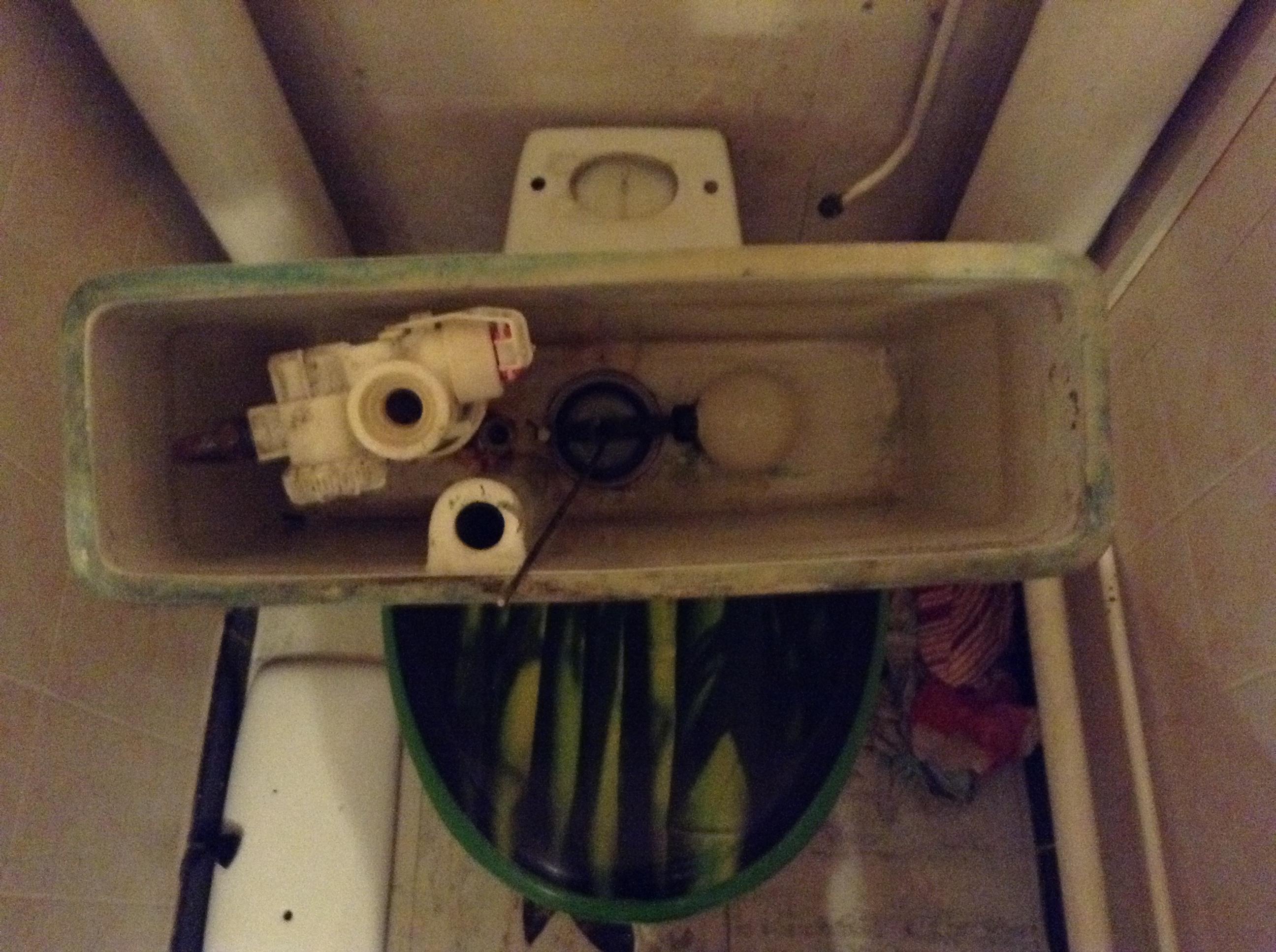 Remplacement mécanisme WC